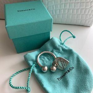 Tiffany Heart Tag Key Ring holder